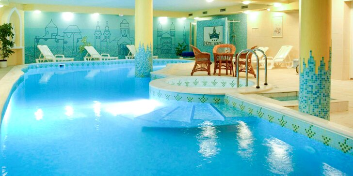 4* wellness pobyt v Egeru: neomezená relaxace, polopenze i návštěva sklípku
