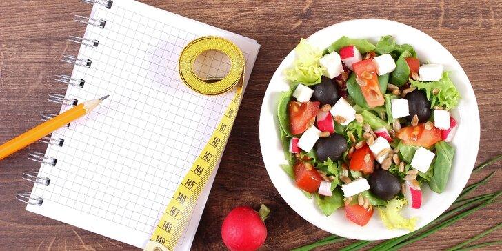 Redukční jídelníček na 3 měsíce online včetně seznamu cviků