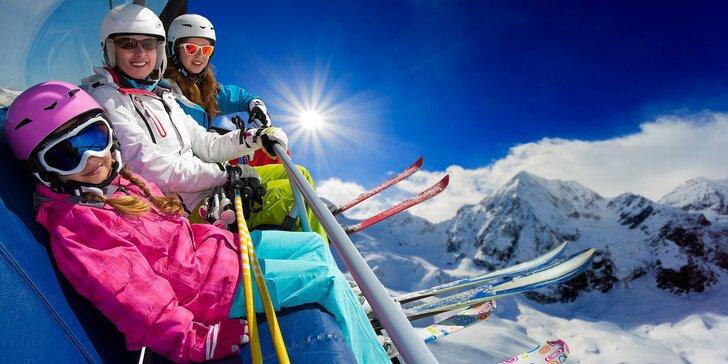 Březnová lyžovačka v italské Aprice: doprava, 3 noci v hotelu, polopenze a skipas