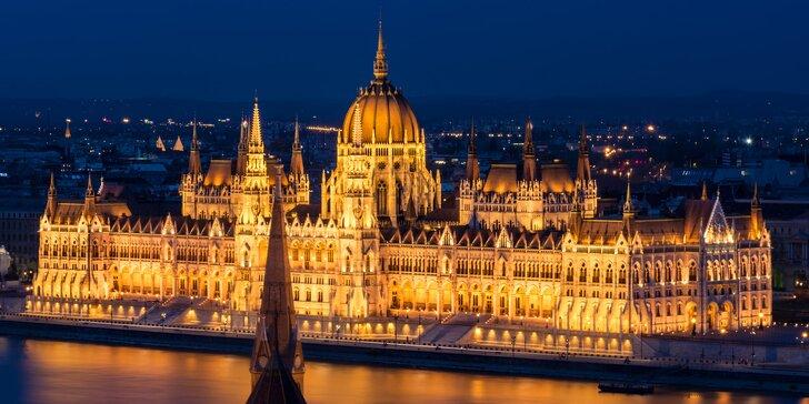 2 nebo 3 noci v Budapešti: romantický hotel blízko centra se snídaní