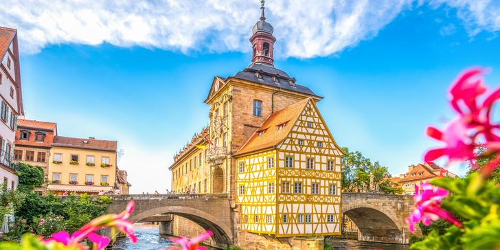 """Výlet do Bambergu: Císařský dóm, Stará radnice, rybářská čtvrť """"Malé Benátky"""""""