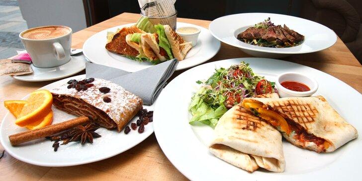 Kompletní obědové menu dle výběru pro 1 či 2 v PoloCaffé