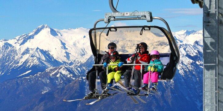 Lyžování v Monte Bodone: 3denní skipas, doprava a 2 noci s polopenzí