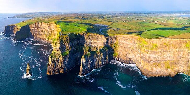 Dublin, Moher, Galway a další krásy Irska: vč. letenky, 3x ubytování a snídaní
