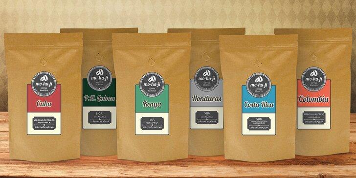 Ochutnejte výběrovou čerstvou kávu z malé české pražírny Mo-ha-ji