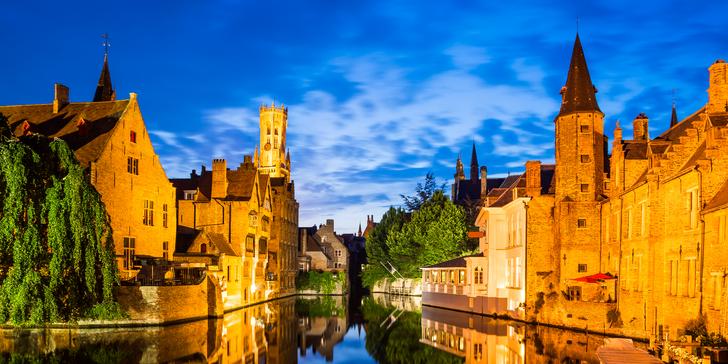 Antverpy, Bruggy, Brusel, Gent a Lovaň: květnový zájezd s ubytováním a snídaní