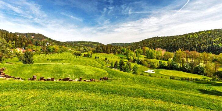Wellness pobyt v golfovém rezortu s neomezeným green fee na dvě hřiště