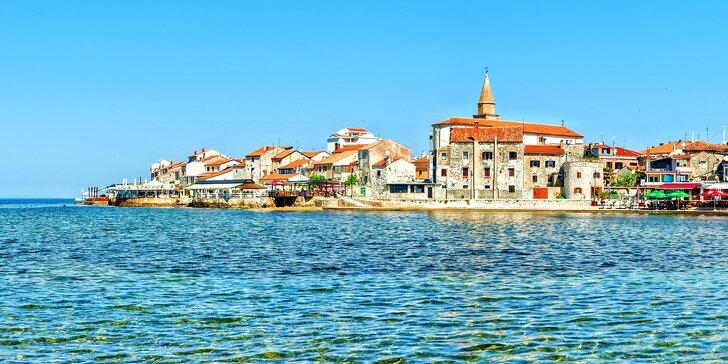 Od června do září na skok k moři: na krásné istrijské pláže v chorvatském Umagu