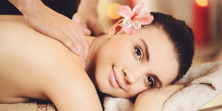 Fantastický odpočinek: Klasická, harmonizační, lymfatická nebo luxusní masáž