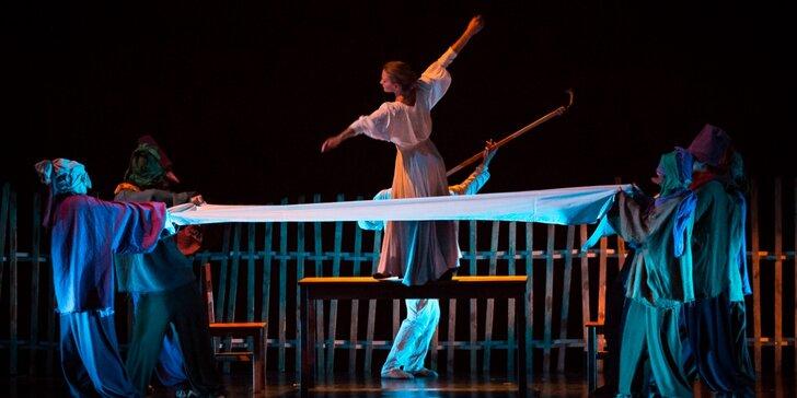 Vstupenka na mimořádný večer Pražského komorního baletu