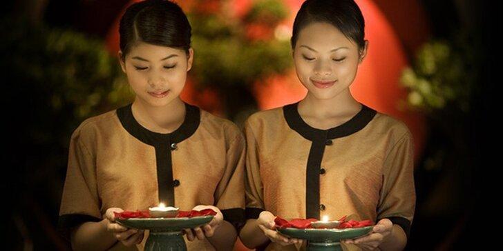 Luxusní zimní relaxace: 100 minut masáže dle výběru v salonu Thai Sun