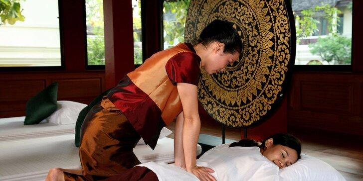 Luxus a relaxace 60 minut - výběr ze 6 druhů thajských masáží v Thai Sunu