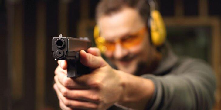 Střelecký zážitek v Mikulově: střelba z pistole, revolveru, pušky i ze samopalu