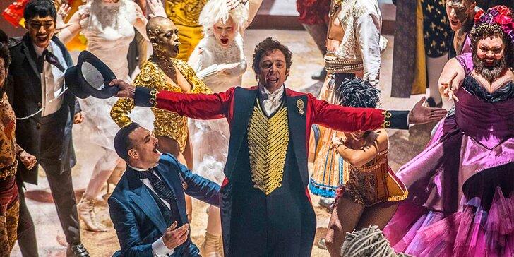 2× vstup do Lucerny na filmový muzikál Největší showman s Hughem Jackmanem