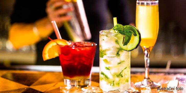 Vyrazte za uvolněním a zábavou: Míchané drinky v americkém stylu pro 2-4 osoby