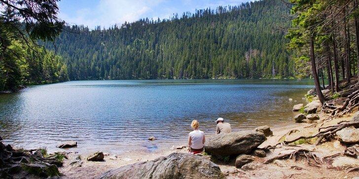 Báječný relax v klidu přírody: Šumava na 3 nebo 5 dní v rodinném penzionu
