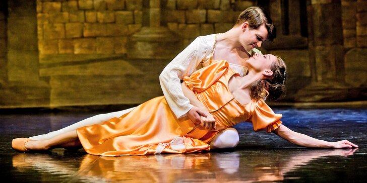 Vstupenka na baletní představení Romeo a Julie v divadle Hybernia