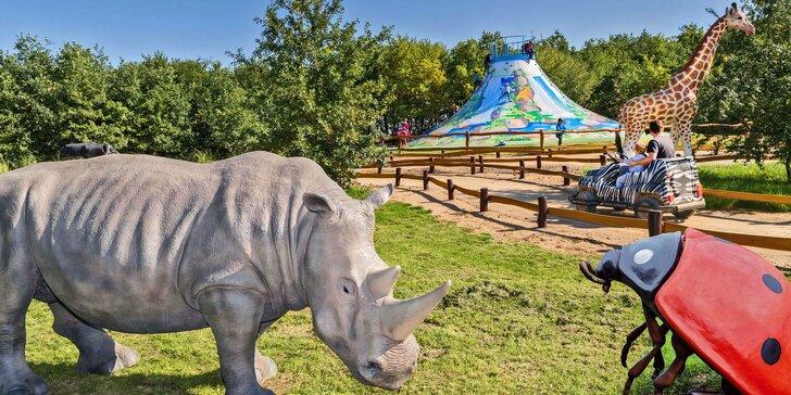 Celodenní vstup do Fajnparku: zábavního areálu s atrakcemi pro celou rodinu