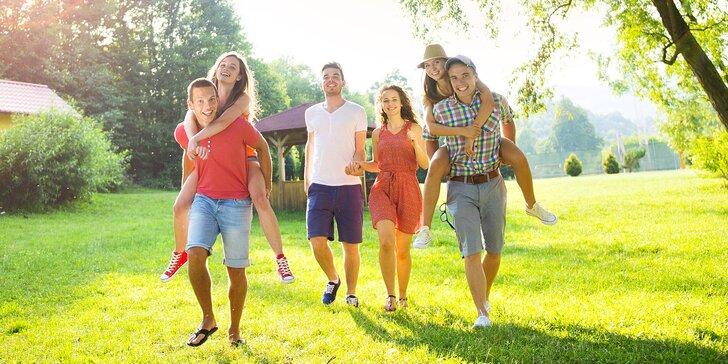 Jaro či léto v chatě v Beskydech až pro 10 osob se zapůjčením kol i grilem