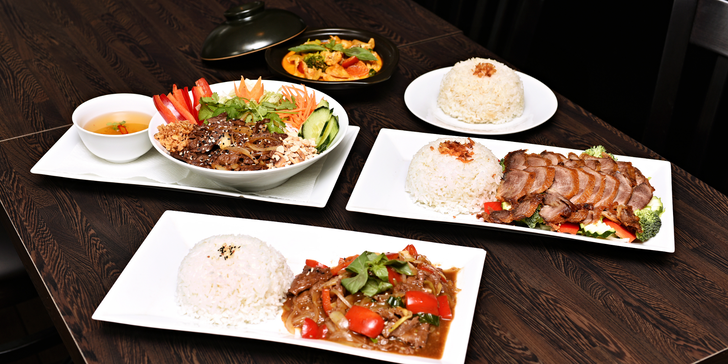 Vietnamské menu pro 1 či 2: Závitky nebo polévka a hlavní chod podle výběru