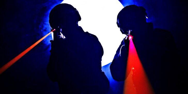 Jde se na věc: 15 minut akční laser game v aréně u Bořislavky