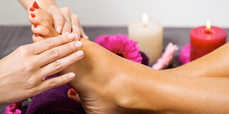 Uvolňující reflexní masáž plosek nohou: 45 nebo 60 minut