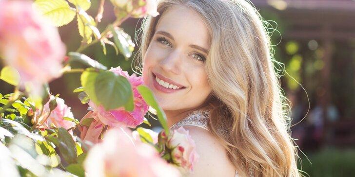 Růžové opojení: jarní profesionální kosmetické ošetření pleti