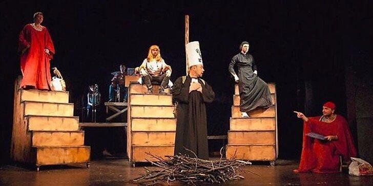 Divadelní představení Pan Hus aneb Tenkrát v Kostnici