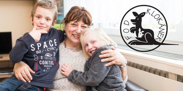 Doporučte tetu pro děti z Klokánků a získejte wellness pobyt v hodnotě 4 000 Kč
