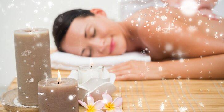 Dárkový poukaz na služby dámského masážního studia: 500, 1000 nebo 1500 Kč