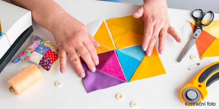 Základy patchworku v 6 lekcích: 18 hodin výuky