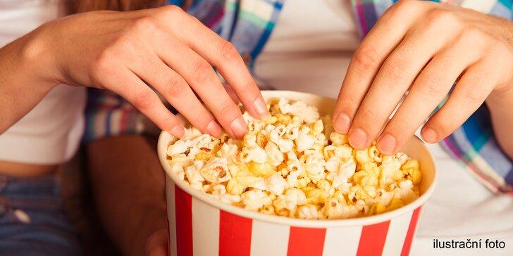 Slaný popcorn nebo velká porce cukrové vaty v Creperii Dyje