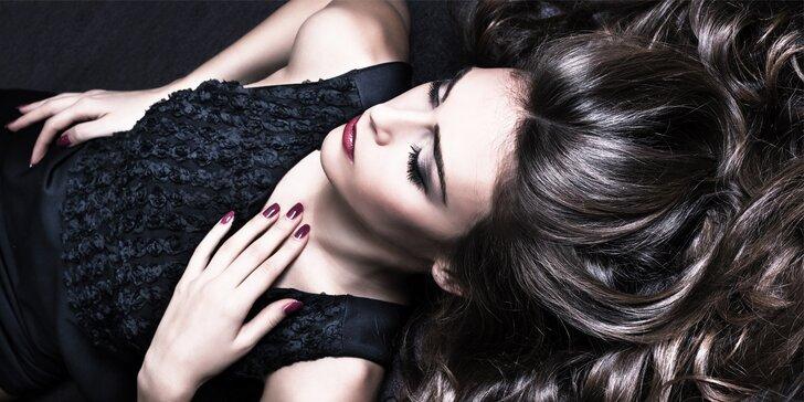 Hloubkové ošetření vlasů s možností ultrazvukové žehličky včetně nového střihu