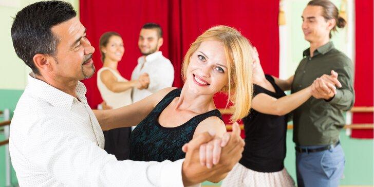 Taneční kurz pro začátečníky, pokročilé a individuální kurz pro 4 páry