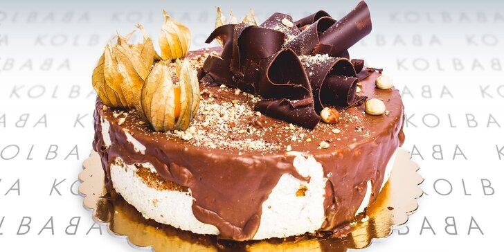 Sladká nádhera z cukrárny Kolbaba: dort stracciatella nebo oříškový