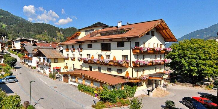 All inclusive light pobyt v Alpách s Zillertal Activcard, děti do 9,99 let zdarma