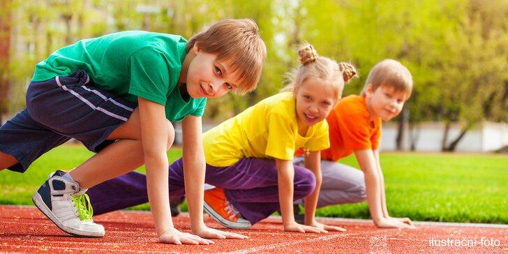 Příměstský tábor plný sportu a zdravé životosprávy pro děti od 6 do 15 let