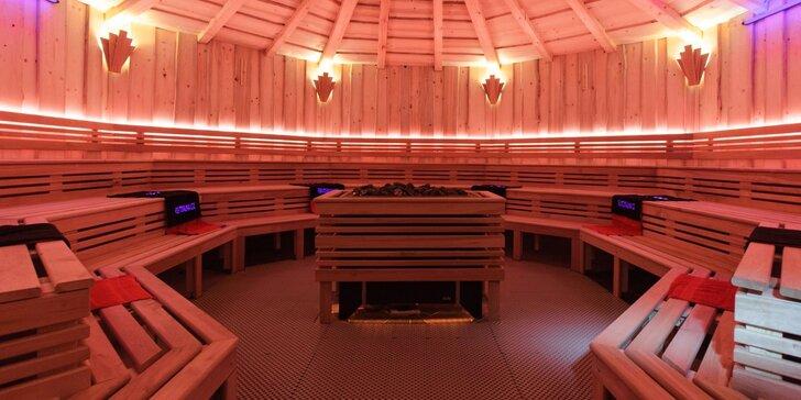 Pobyt v hotelu Hluboký Dvůr s neomezeným vstupem do saunového světa