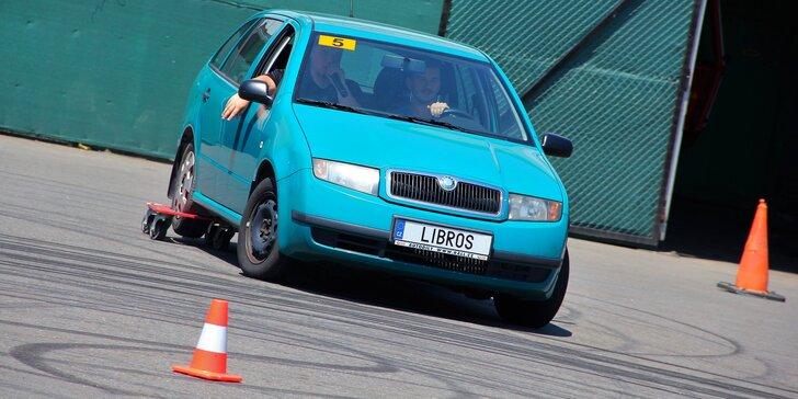 Simulátor smyku: naučte se 100% ovládnout svůj vůz