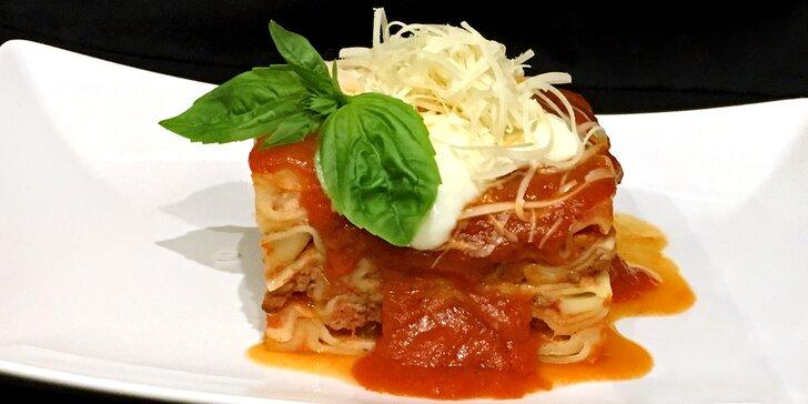 Lasagne Bolognese: italská specialita podle domácí receptury pro 1 nebo 2