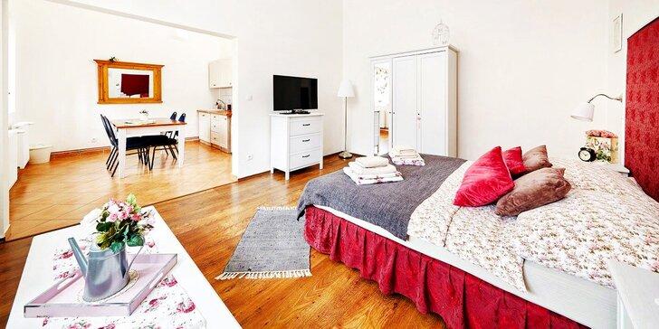 Relax v Kutné Hoře: apartmán v centru, bylinná koupel i 3chodová večeře