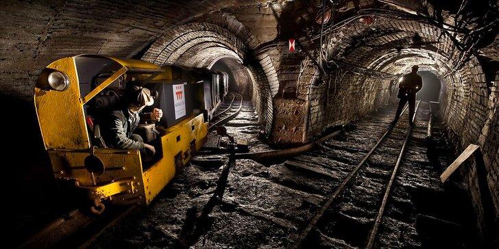 Ve stopách horníků: Exkurze do historického dolu vč. 3km jízdy důlním vlakem