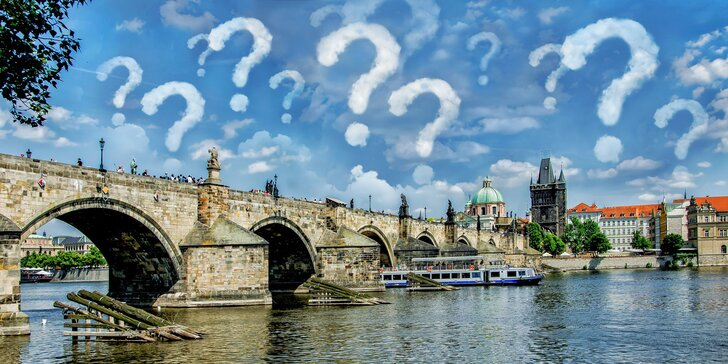 Dobrodružný příběh v pražských uličkách: outdoorová hra Poklad ztraceného řádu až pro 6 osob
