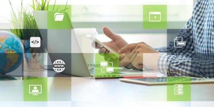 Online kurz Wordpressu: Od koupení domény a hostingu po kompletní web