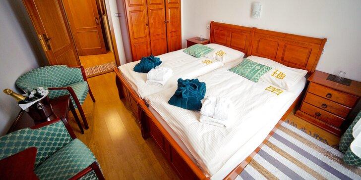 Romantický pobyt pro 2 s polopenzí a wellness v krásném secesním hotelu