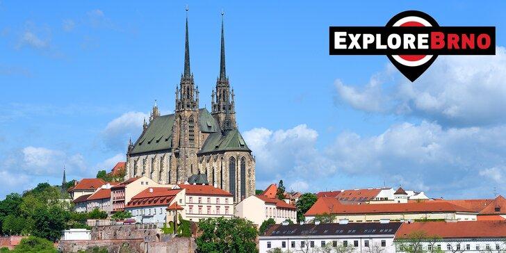 Tip na prima odpoledne: venkovní hra Explore Brno pro děti i dospělé