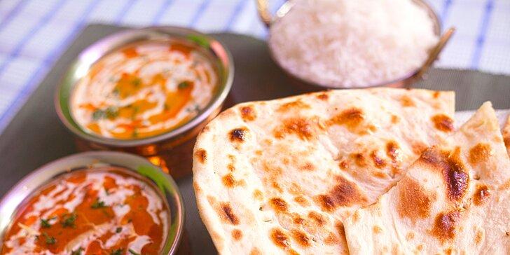 Menu pro 2 poskládané dle vaší chuti v indicko-pakistánské restauraci