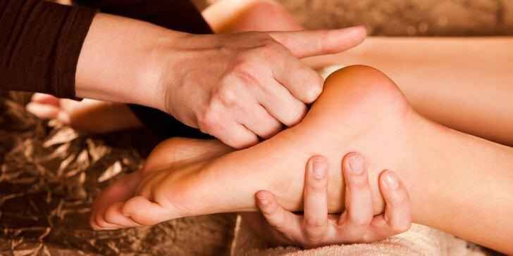 Úleva pro unavená chodidla: čínská reflexní masáž v délce 30, 45 či 60 minut