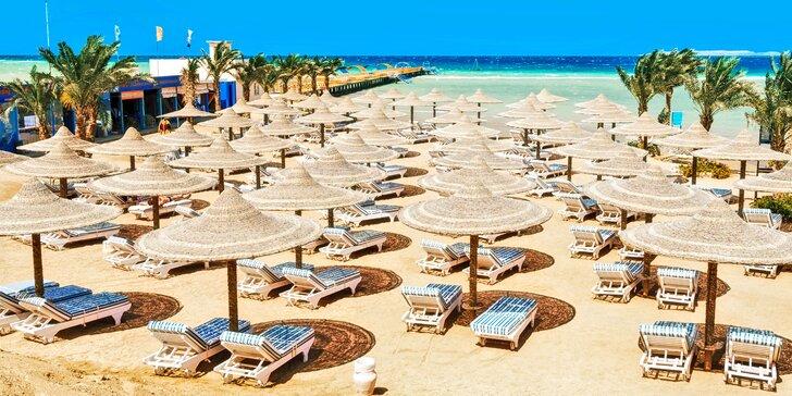 Plavba po Nilu a Hurghada: 5* ubytování, strava, památky, koupání i letenky