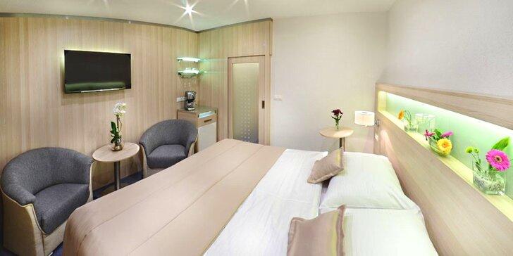 Luxus v pohádkovém Podlesí: VIP apartmán, masáže a 3chodové večeře